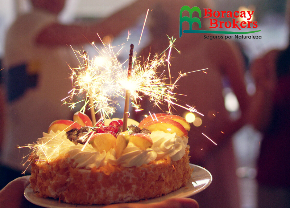 We celebrate our birthday with you.